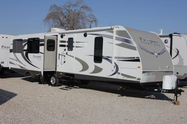 2014 KEYSTONE PASSPORT ULTRA LITE ELITE 31RE