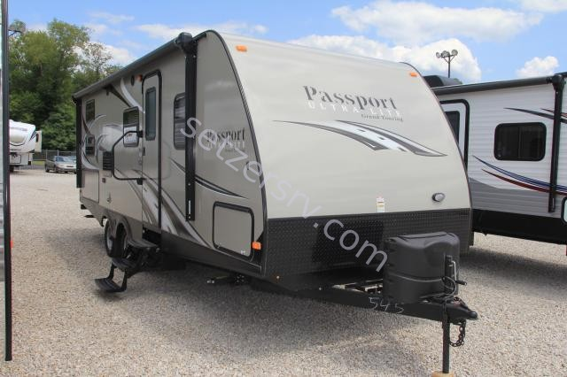 2015 KEYSTONE PASSPORT ULTRA LITE GRAND TOURING 2400BH