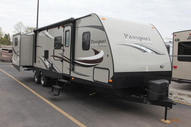 2015 KEYSTONE PASSPORT ULTRA LITE GRAND TOURING 3290BH