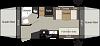 2018 KEYSTONE PASSPORT ULTRA LITE 171EXP