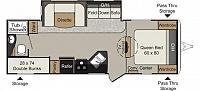 2013 KEYSTONE PASSPORT GRAND TOURING ULTRA LITE 2650BH