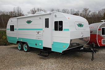 2017 RIVERSIDE RV WHITEWATER RETRO 199FKS