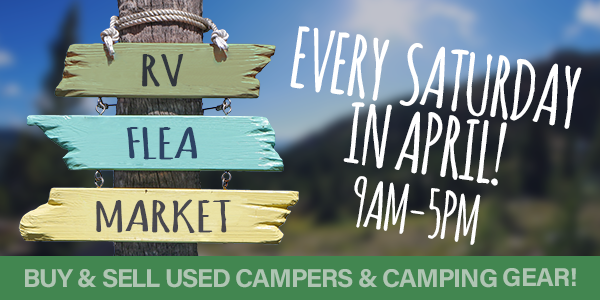 RV Flea Market: Every Saturday in April